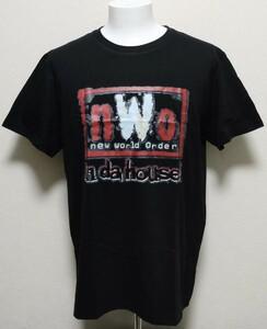 送料無料!【XXXLサイズ】NWO Tシャツ WCW WWE IN DA HOUSE ホーバン プロレス
