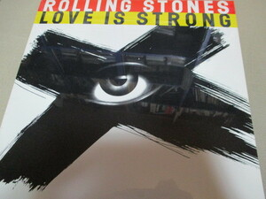 """rolling stones / love is strong (US未開封12""""シングル送料込み!!)"""