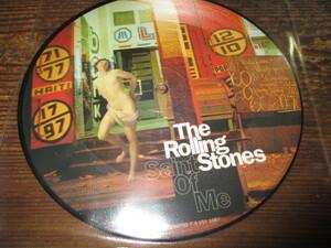 rolling stones / saint of me (限定ピクチャー送料込み!!)