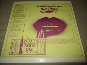 rolling stones / nasty music (ジャケットスリック3枚セット送料込み!!)