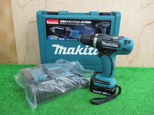【未使用品】 マキタ/Makita 14.4V 充電式ドライバドリル DF370DSH フルセット s055