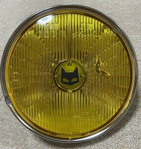 絶版 当時物 マーシャル キティカット ライト 720 700 イエローレンズ 180π SEV 猫ひげ 新品リム付 CBXJRZRX FX ゼファー 旧車 Z1 2 mk2