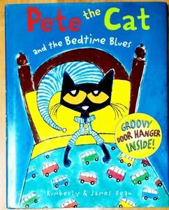 大きいPete the cat and the bedtime blues