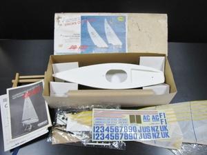 AGインダストリー CUP RACER CR610 カップレーサー ラジオコントロールヨット 未組立 絶版 ビンテージ ラジコン 玩具