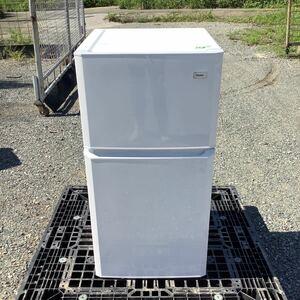 福岡発 2ドア冷蔵庫 106L Haier ハイアール 冷凍冷蔵庫 JR-N106H 2015年製 中古品