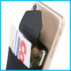 ★注目★★カラー:ブラック★ android対応 SINJIMORU iphone KK-163 カードケース カード入れ PASMO SUICA スマホ ケース パース 手帳型
