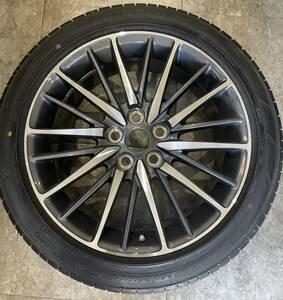 Lexus  LS 600h F спорт   Оригинал   шина  диск   1 штука   набор   19 дюймов  8JJ   +   35  5 шпилек  PCD 120