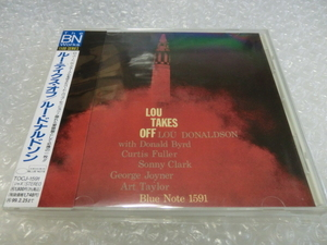 即CD ルー・ドナルドソン Lou Donaldson Lou Takes Off Donald Byrd Curtis Fuller Sonny Clark Art Taylor ジャズ 50s 名盤 国内盤 帯付!!