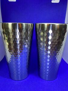 ステンレス断熱カップ2個