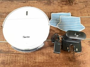 ★ロボット掃除機 Take-One★動作確認済み 吸い込み・水拭き清掃 両対応 音声機能 ロボット 家電