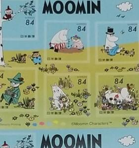 即日発送★ムーミンシール切手11シート★