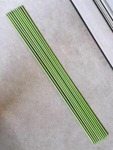 スチール製 イボ付 園芸支柱 10本 直径2cm × 長さ120cm ガーデニング 園芸 家庭菜園 引き取りのみ