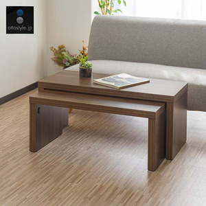 popularity low table 90 center table wood grain 2 point set rectangle 349