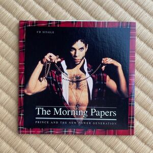 【Prince】The Morning Papers CD【プリンス】