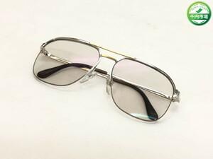 【H-6993】ダンヒル DUNHILL オーストリア製 ゴールドxシルバー 56□15 135 眼鏡 メガネ メガネフレーム【千円市場】