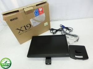 【K-4600】I-O DATA アイ・オー・データ LCD-AD193XB-M2 19型液晶ディスプレイ モニター 通電確認 現状品【千円市場】