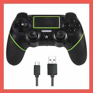 PS4コントローラー プロコン ワイヤレス Bluetooth接続 二重振動機能 ジャイロセンサー プレステ4