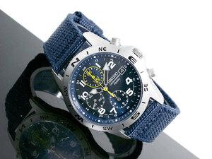 【国内メーカー正規品】SEIKO セイコー海外モデル セイコー逆輸入 セイコーメンズ腕時計 クロノグラフ セイコーメンズウォッチ SND379R