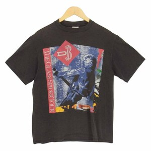 80s Spring Ford ボディ David Bowie THE GLASS SPIDER TOUR 1987 デヴィッドボウイ ツアー Tシャツ サイズ消【中古】【即決】