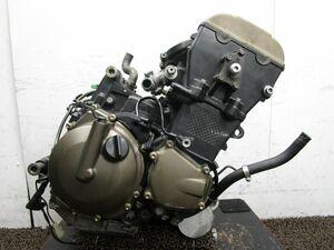 ZX-10R エンジン ▽ZF76!ZXT00C 始動確認済み OH素材に カワサキ 【 ZXT00CE 】 動画有 ニンジャ