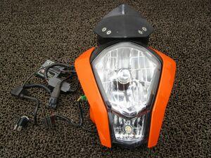 KTM 125デューク ヘッドライト カウル □XY75!VBKJGA KTM 【 901 】 DUKE