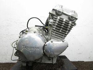 サンダーバード900 エンジン ▽ZH23!SMTTC 始動確認済み OH素材に トライアンフ THUNDERBIRD 動画有