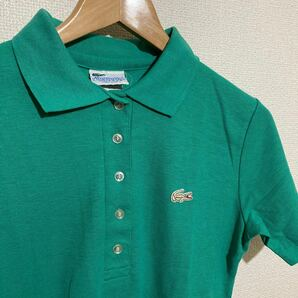 USA ラコステ ポロシャツ 緑 LACOSTE