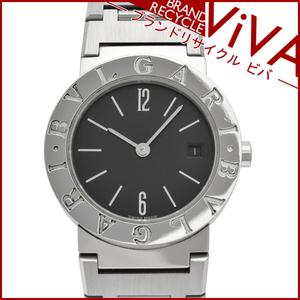 ブルガリ BVLGARI ブルガリブルガリ レディース 腕時計 BB26SSD SS ステンレススチール 腕回り15.5cm 美品 研磨仕上げ済み