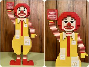 1980年代製 店頭ディスプレイ マクドナルド ロナルドマクドナルド ドナルド レゴ McDonalds LEGO Ronald McDonald ストアディスプレイ