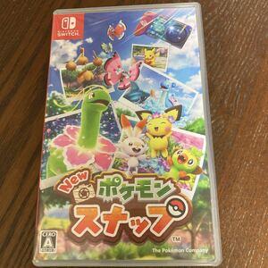 【中古品】NEW ポケモンスナップ 任天堂スイッチ NintendoSwitch