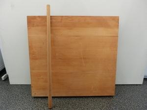 中古品 約80cm のし台 麺棒セット 蕎麦 そば うどん 製麺 麺打ち台 のし板