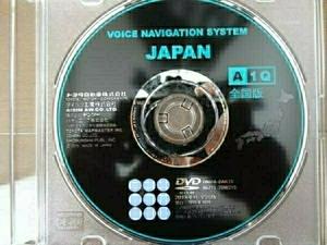 トヨタ純正VOICE NAVIGATION SYSTEM JAPAN A1Q 2015年秋 全国版