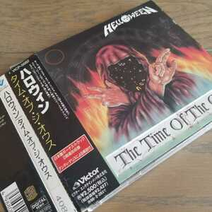 ★HELLOWEEN「THE TIME OF THE OATH」国内盤帯付きCD アルバム ハロウィン