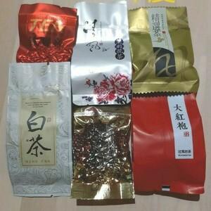 厳選 中国茶 取り寄せ 6種 セット