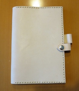 * leather notebook A6 Note book cover cow leather unused *