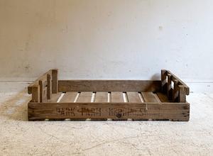 フランスアンティークローウッドボックス(3)/アトリエカフェアパレルインテリア木箱店舗什器内装建築空間ショップデザインガーデン園芸