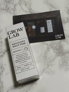 新品未開封 GROW LAB グロウラボ スカルプフォーム 泡の育毛剤 スカルプケア 育毛