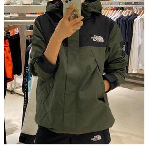 ノースフェイスマウンテンジャケット THE NORTH FACE martis jacket XL カーキ マーチス