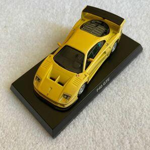 京商 フェラーリ F40 GTE イエロー