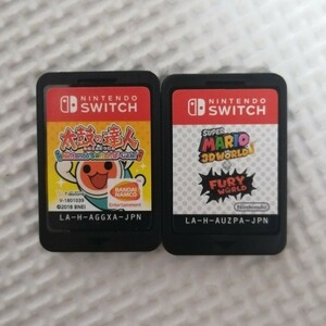 太鼓の達人Nintendo Switchばーじょん、スーパーマリオ3Dワールド+ フューリーワールド