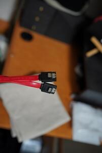 SATAケーブル 0.5m 2本セット