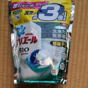 アリエール バイオサイエンス リビングドライジェルボール3D 詰め替え 超ジャンボ 1個 (46粒入) 洗濯洗剤 P&G