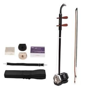 二胡 本体 初心者セット 楽器 ケース ブック 木製 弓 弦 伝統的な中国の楽器 中国 ロジン