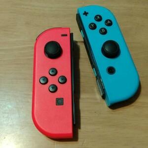 Joy-Con ニンテンドースイッチ Switchジョイコン 良く見ると珍しい?赤青逆カラー