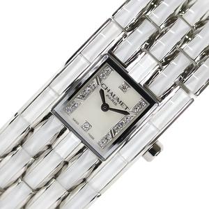 ショーメ CHAUMET ケイシス ホワイトクリスタル W19635-35A 腕時計 レディース 中古