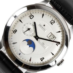 ゼニス ZENITH グランデムーンフェイズ 03/16.1125.691 自動巻き メンズ 腕時計 中古