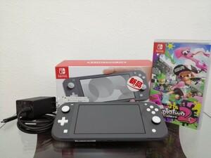 Nintendo Switch Lite、Splatoon2