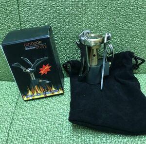 軽量・コンパクトOD缶用 シングルバーナー アウトドアストーブ