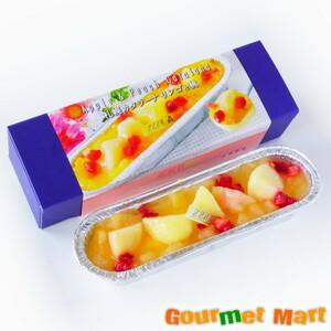 【北海道グルメマート】北海道限定品 みれい菓 札幌カタラーナ リンゴと桃