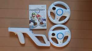 【 即決 】Wii マリオカートソフト ハンドル ザッパー 4点セット 送料無料 匿名配送